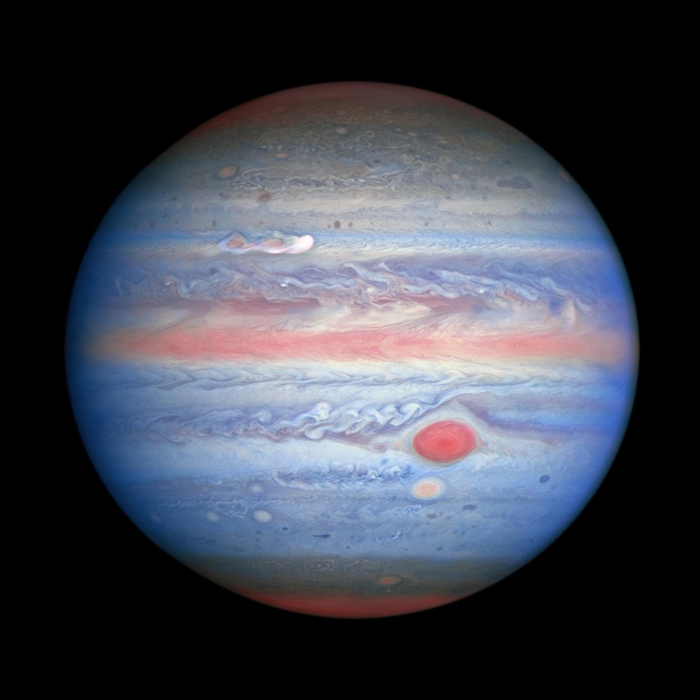 NASA phát hiệu siêu bão khổng lồ có tốc độ 560km/giờ hình thành trên Sao Mộc - Ảnh 1.