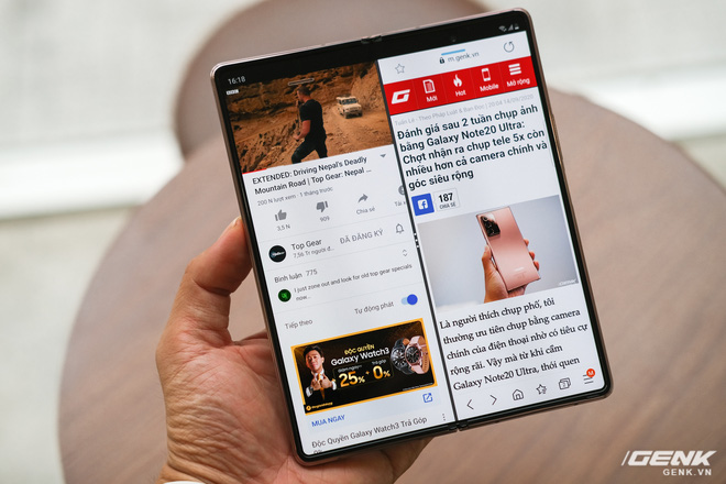 Samsung Galaxy Z Fold2 vs. Microsoft Surface Duo: Cuộc chiến giữa hai gã smartphone dị biệt - Ảnh 15.