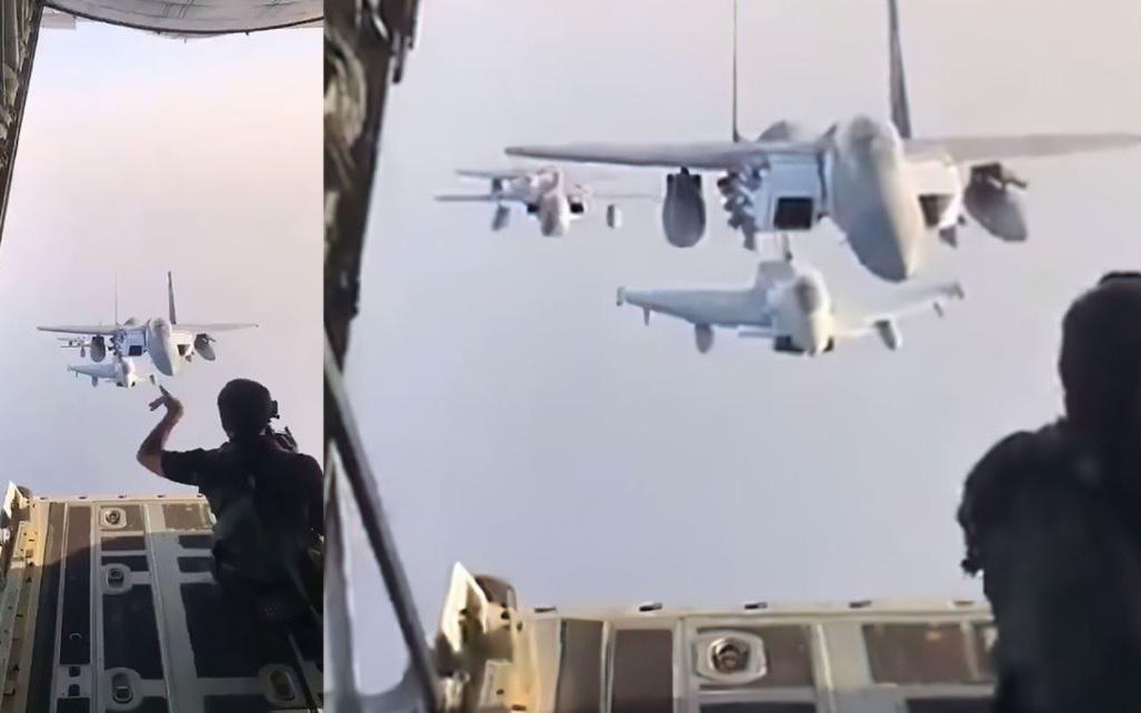 Xem cách nhiếp ảnh gia này điều khiển máy bay trong buổi chụp hình giữa không trung