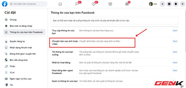 Cách chuyển toàn bộ ảnh từ Facebook sang Google Photos để phòng trường hợp bị khóa tài khoản - Ảnh 5.