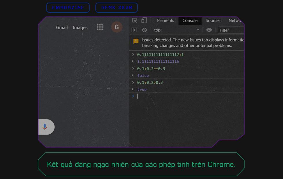 Khi Chrome cho ra kết quả 0.1 + 0.2 > 0.3: Bản chất thực sự của laptop Windows, iPhone và những cỗ máy tính toán bạn đang dùng hàng ngày - Ảnh 1.