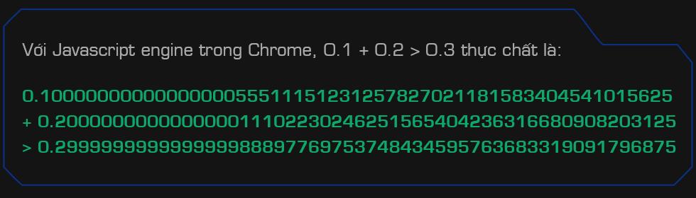 Khi Chrome cho ra kết quả 0.1 + 0.2 > 0.3: Bản chất thực sự của laptop Windows, iPhone và những cỗ máy tính toán bạn đang dùng hàng ngày - Ảnh 10.