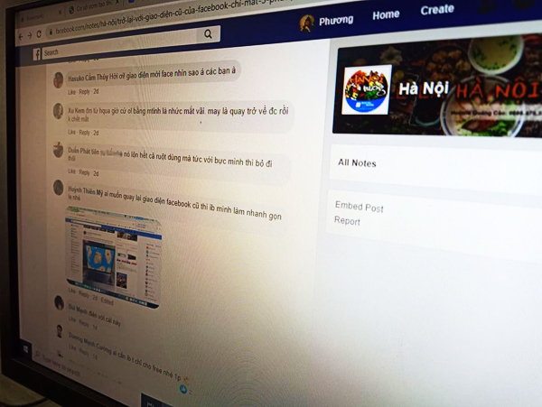 Người Việt vẫn níu kéo dùng giao diện cũ của Facebook - Ảnh 1.