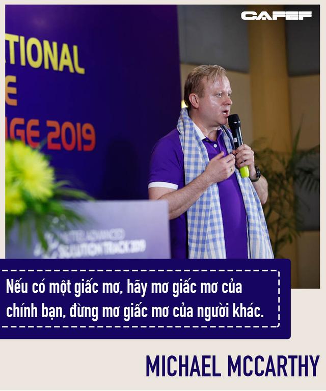 Người từng 10 năm là No.1 stock market timer ở Mỹ làm Huấn luyện viên Viet Solutions: Đừng mơ giấc mơ của người khác! - Ảnh 4.