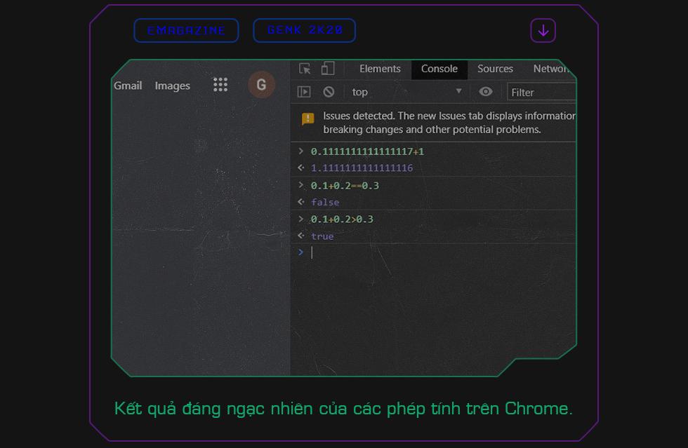Khi Chrome cho ra kết quả 0.1 + 0.2 = > 0.3: Bản chất thực sự của laptop Windows, iPhone và những cỗ máy tính toán bạn đang dùng hàng ngày - Ảnh 1.