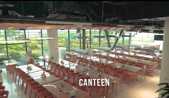 Bên trong trụ sở mới của Viettel: Tràn ngập cây xanh, sức chứa 1.000 người, điều khiển bằng âm thanh - hình ảnh, tập thể dục 15 phút mỗi ngày - Ảnh 5.