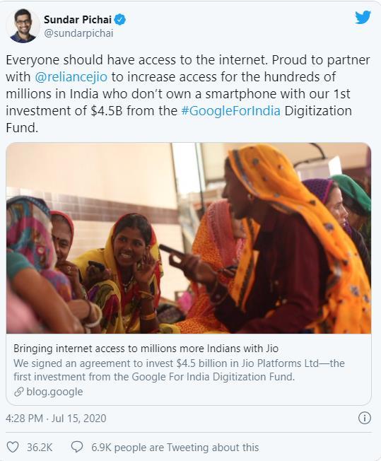 Mới thành lập từ 2019, vì đâu công ty Ấn Độ Jio Platform liên tiếp được Facebook, Google cùng hàng loạt quỹ tên tuổi rót vào vài chục tỷ USD? - Ảnh 6.