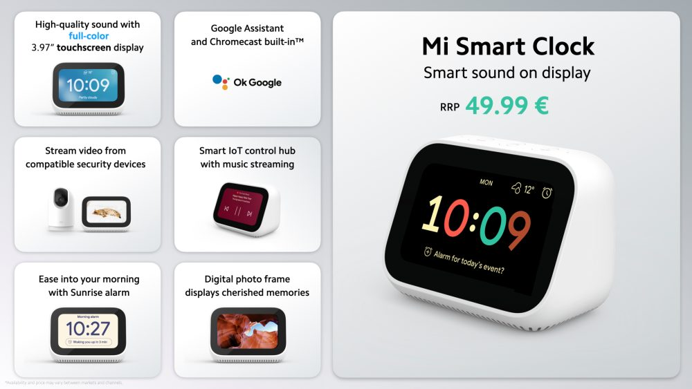 Xiaomi ra mắt đồng hồ báo thức thông minh Mi Smart Clock: Màn hình cảm ứng 3,97 inch, nhiều tính năng hay ho, giá 1,4 triệu đồng - Ảnh 2.