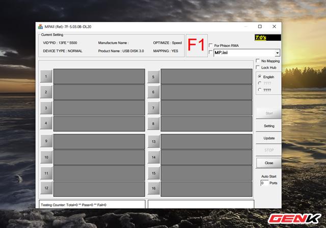 Hướng dẫn chi tiết cách nạp lại firmware cho USB bị lỗi - Ảnh 10.