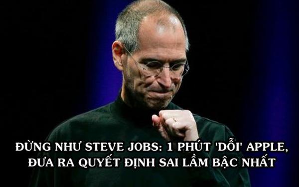 Sai lầm khiến Steve Jobs mất 31,6 tỷ USD, không lọt top 50 người giàu nhất dù điều hành đế chế giá trị nhất hành tinh - Ảnh 1.