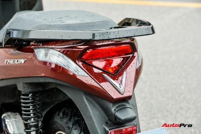 Ra mắt VinFast Theon: Xe máy điện to như Honda SH, có ABS 2 kênh và nhiều công nghệ 'xịn xò' khác - Ảnh 4.