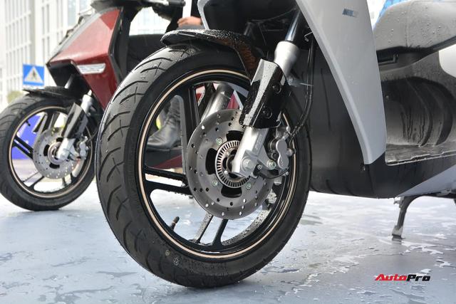 Ra mắt VinFast Theon: Xe máy điện to như Honda SH, có ABS 2 kênh và nhiều công nghệ 'xịn xò' khác - Ảnh 9.