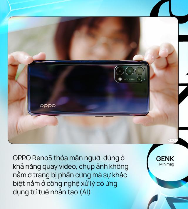 OPPO Reno5 - smartphone dành cho người yêu cái đẹp, từ thiết kế cho đến ảnh chụp, video - Ảnh 10.
