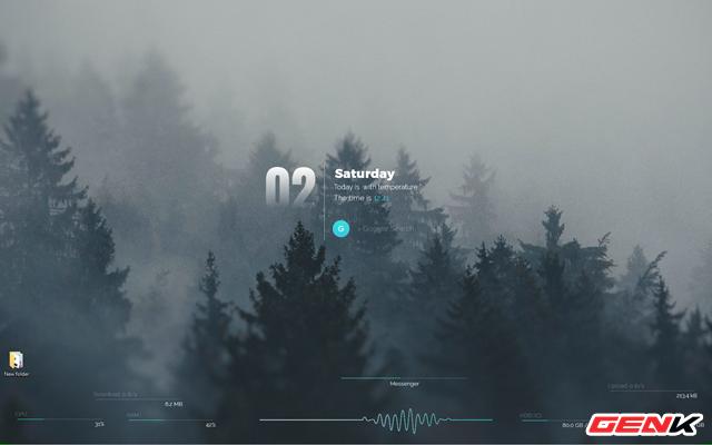Setup một Windows 10 đầy tĩnh lặng và tối giản với bộ giao diện Amatical - Ảnh 10.