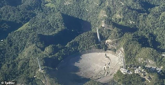 Puerto Rico chi 8 triệu USD để dựng lại đài thiên văn khổng lồ Arecibo - Ảnh 3.