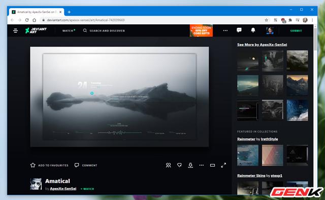 Setup một Windows 10 đầy tĩnh lặng và tối giản với bộ giao diện Amatical - Ảnh 8.