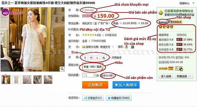 Vì sao nhiều người Việt thích mua đồ từ Taobao và các trang TMĐT Trung Quốc? - Ảnh 1.