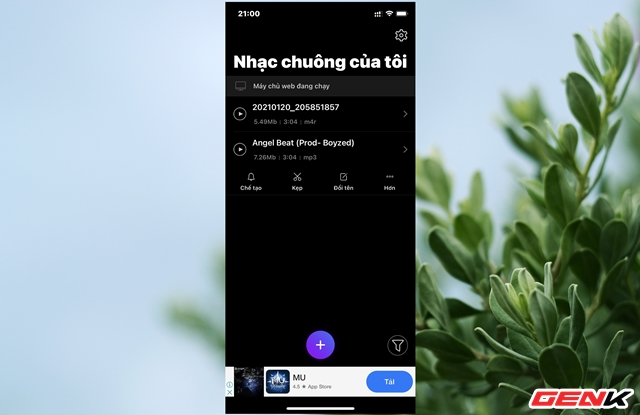 Chi tiết cách cài nhạc chuông từ bài hát yêu thích cho iPhone mà không cần máy tính - Ảnh 9.