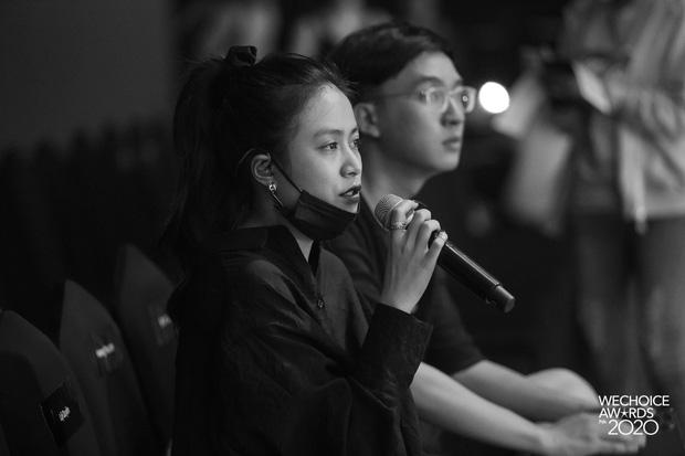 Trước giờ G Gala WeChoice Awards: Hoàng Thùy Linh và Dế Choắt cực tình tứ, Bích Phương cõng gấu siêu đáng yêu bên dàn rapper trai trẻ - Ảnh 6.