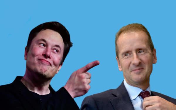 CEO Volkswagen tuyên chiến với Elon Musk - Ảnh 1.