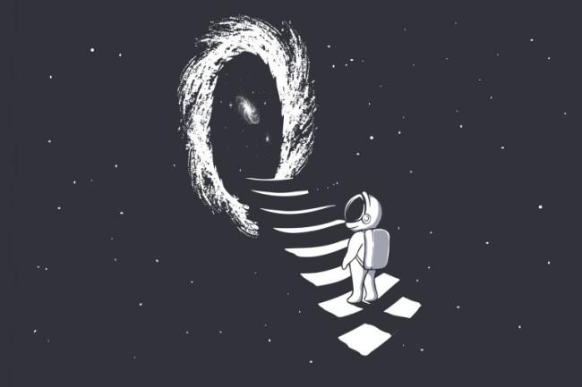 Nghiên cứu mới mô tả cách phát hiện hố giun - những cánh cổng cho phép ta du hành tới những vùng không gian khác - Ảnh 2.