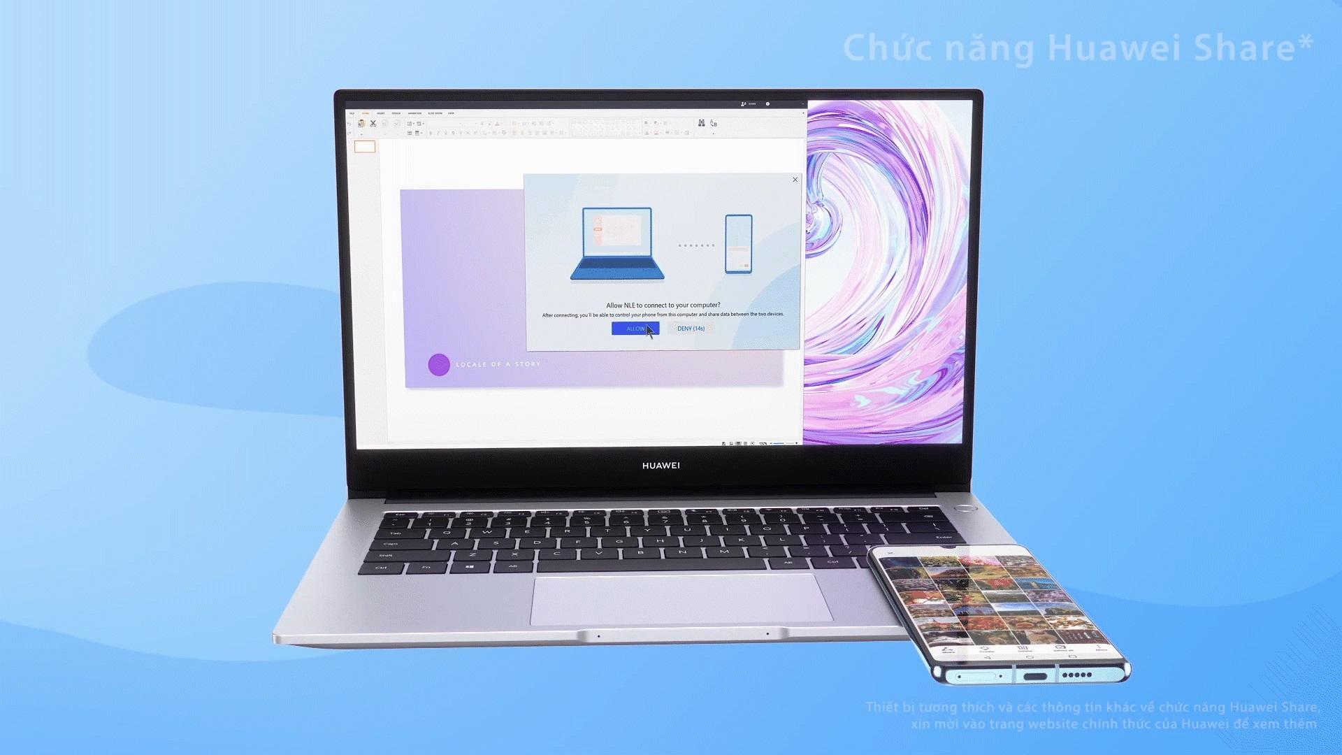 Huawei ra mắt HUAWEI MateBook D 14 tại Việt Nam, cấu hình tương đương D 15 trước đây, giá không đổi - Ảnh 3.