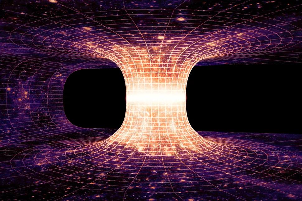 Nghiên cứu mới mô tả cách phát hiện hố giun - những cánh cổng cho phép ta du hành tới những vùng không gian khác - Ảnh 1.