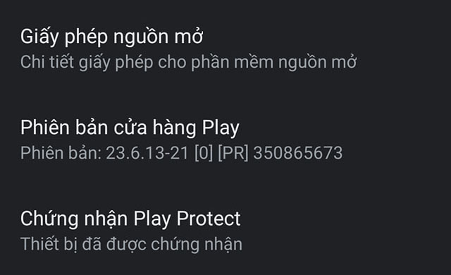 Finally, Bphone has Google Play Protect certificate - Photo 2.