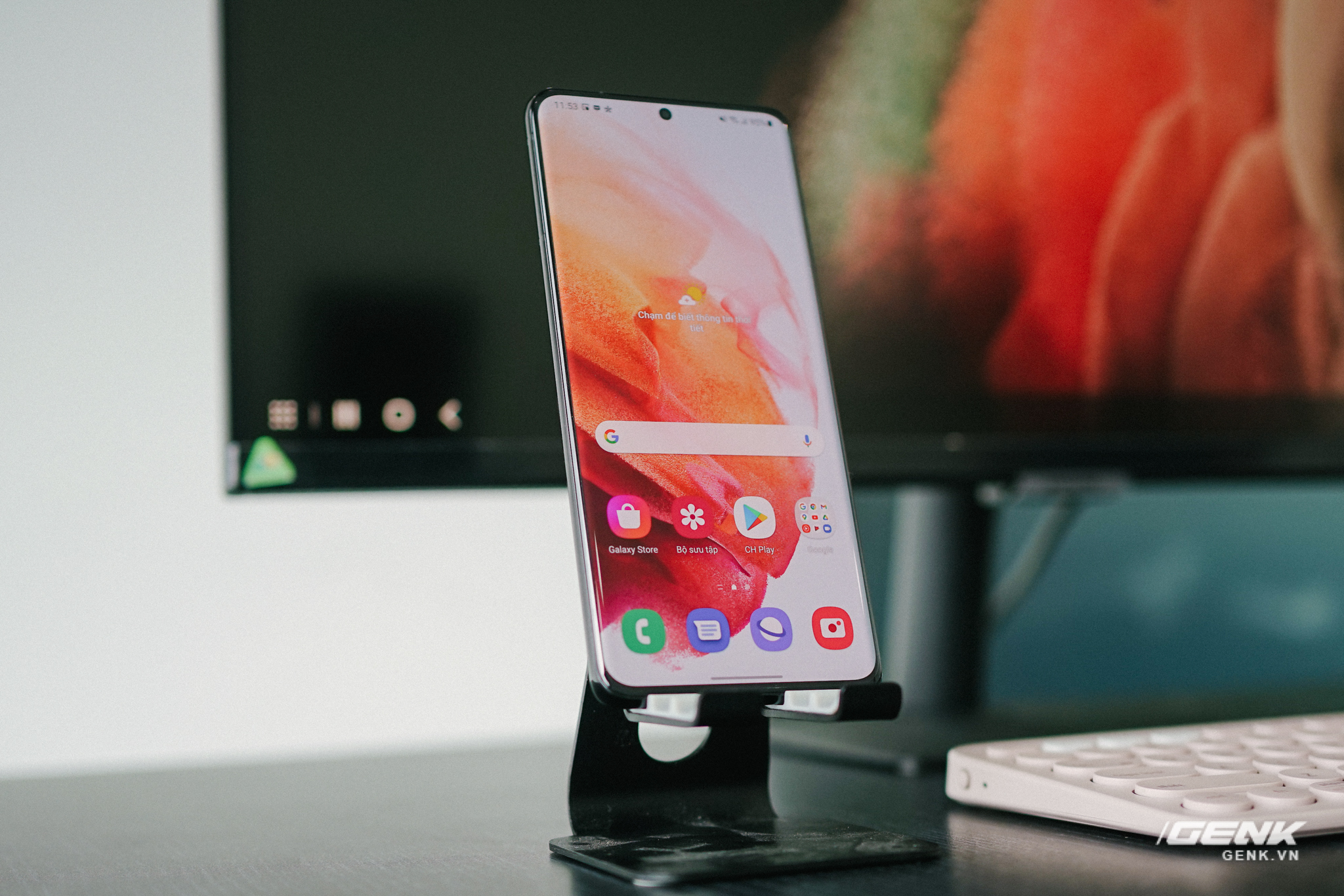 Cận cảnh Samsung M5: Màn hình thông minh mới của Samsung có thể hoạt động độc lập không cần máy tính, giá từ 7 triệu đồng - Ảnh 6.