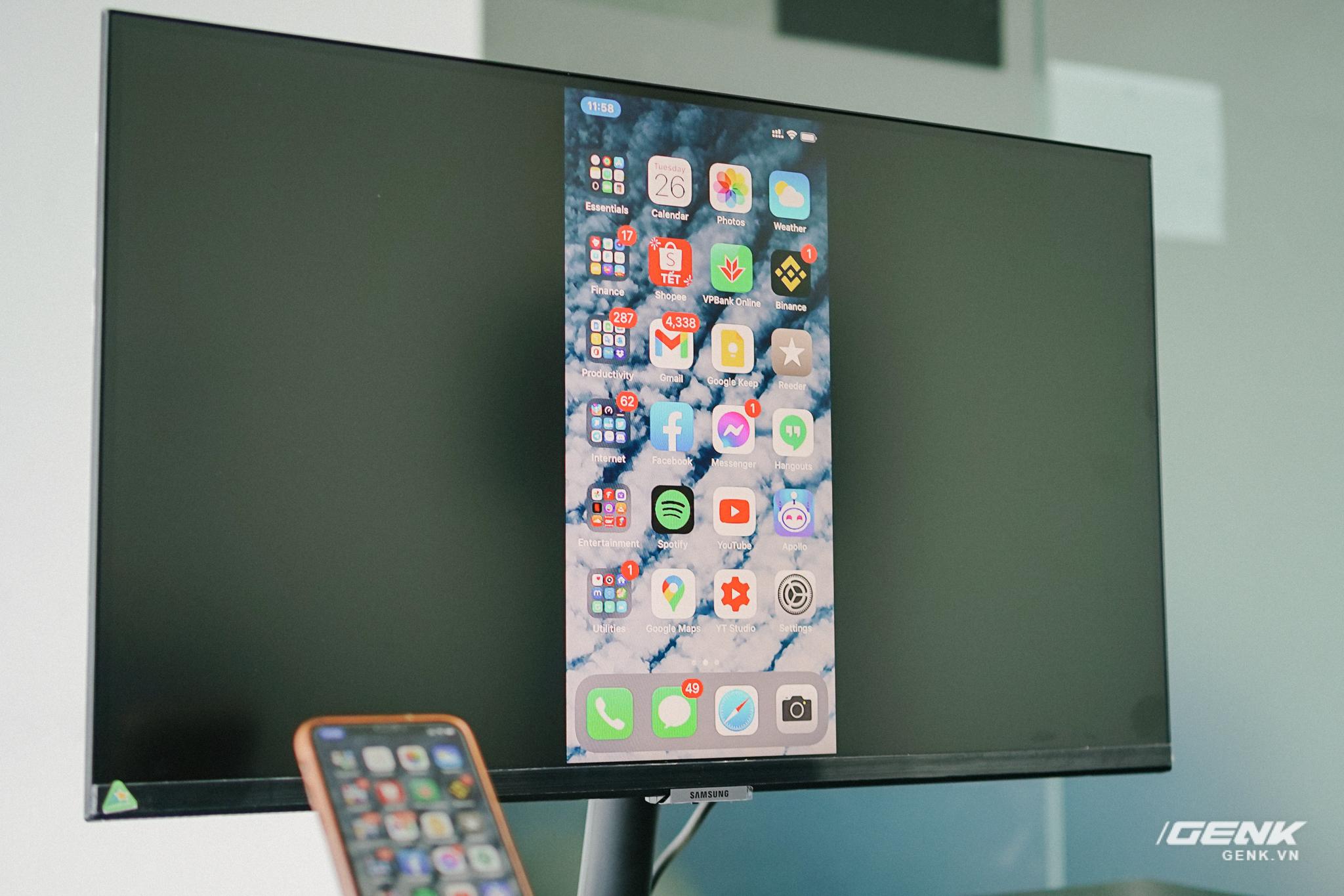 Cận cảnh Samsung M5: Màn hình thông minh mới của Samsung có thể hoạt động độc lập không cần máy tính, giá từ 7 triệu đồng - Ảnh 8.