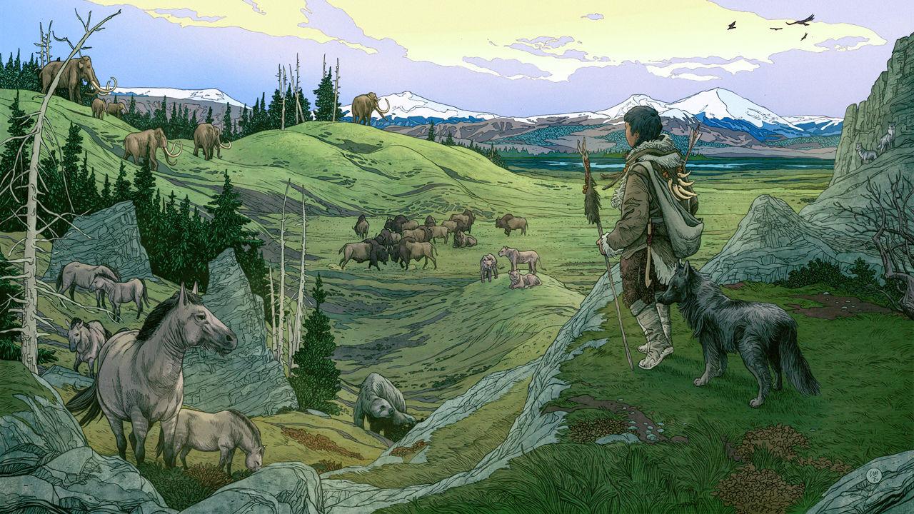 Những người thợ săn ở Siberia thời kỳ băng hà có thể đã thuần hóa chó từ 23.000 năm trước - Ảnh 1.