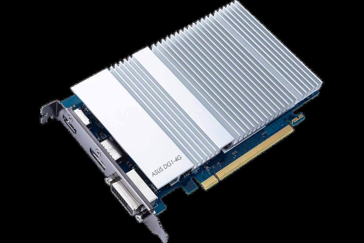 Đây chính là chiếc card đồ họa Iris Xe đầu tiên dành cho desktop của Intel, trông như là từ 10 năm trước - Ảnh 1.