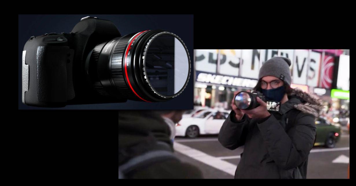 Món phụ kiện đơn giản này giúp mẫu ảnh tự nhìn thấy mình trước ống kính để tạo dáng - Ảnh 1.