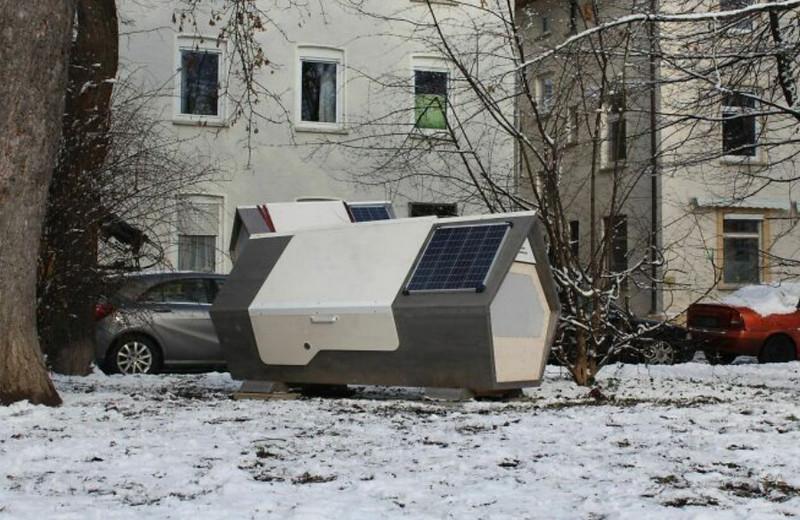 """Thành phố Đức thử nghiệm phòng ngủ """"kén tằm""""giúp người vô gia cư vượt qua mùa đông khắc nghiệt - Ảnh 7."""