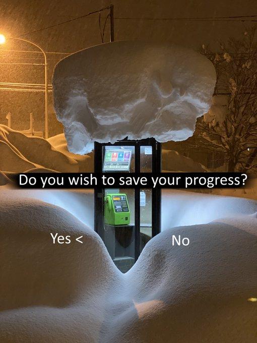 Bức ảnh bốt điện thoại công cộng giữa trời tuyết trắng gây xôn xao cộng đồng mạng Nhật Bản - Ảnh 3.