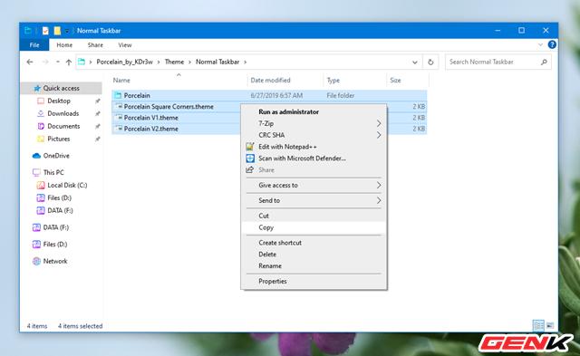 Mỏi cổ chờ Windows 10 có giao diện mới? Hãy cài ngay bộ giao diện Porcelain này để không thấy nhàm chán - Ảnh 15.