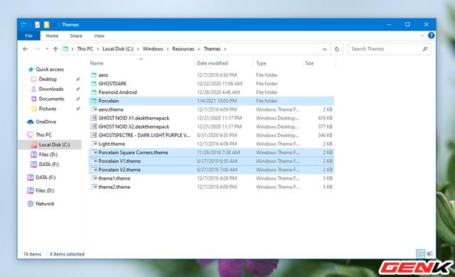 Mỏi cổ chờ Windows 10 có giao diện mới? Hãy cài ngay bộ giao diện Porcelain này để không thấy nhàm chán - Ảnh 16.