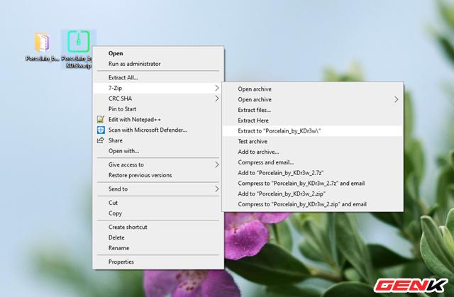 Mỏi cổ chờ Windows 10 có giao diện mới? Hãy cài ngay bộ giao diện Porcelain này để không thấy nhàm chán - Ảnh 6.