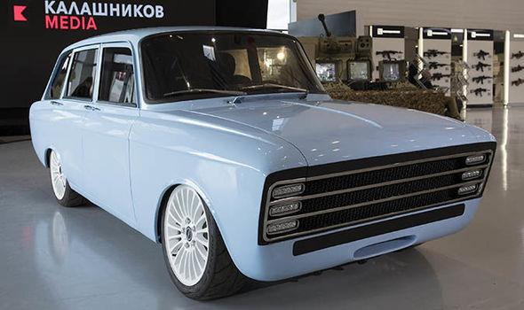 Dự án xe điện bí ẩn của Nga: Do hãng chế tạo AK-47 sản xuất, định vị là đối thủ của Tesla - Ảnh 1.
