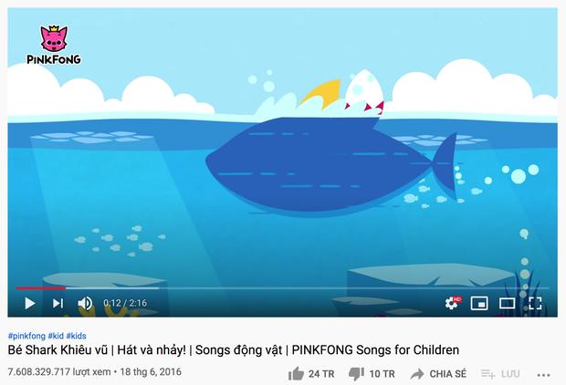 Baby Shark 7,6 tỷ view đứng top 1 thế giới nhưng lại có bí mật về bản quyền ít ai biết, đến nay vẫn chưa thể phán xử - Ảnh 2.