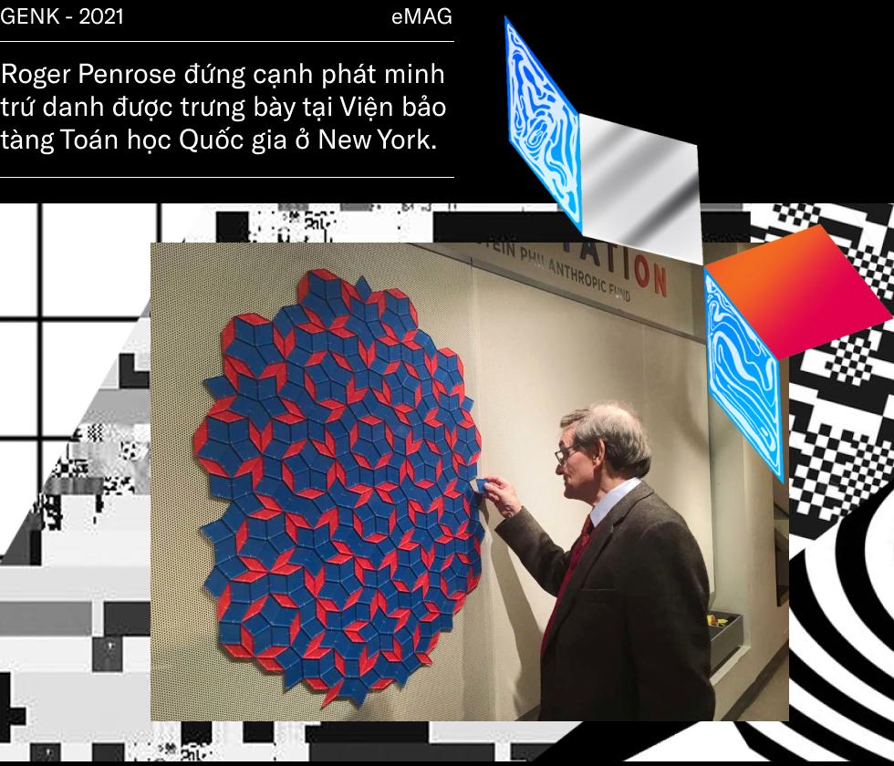 Roger Penrose - nhà khoa học vật lý lượng tử vĩ đại đang được ví như Hawking và Einstein - Ảnh 7.