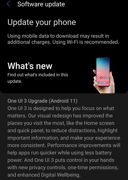 Hôm nay là một ngày vui đối với Samfan, vì cuối cùng thì Galaxy S10 cũng được cập nhật Android 11 - Ảnh 2.