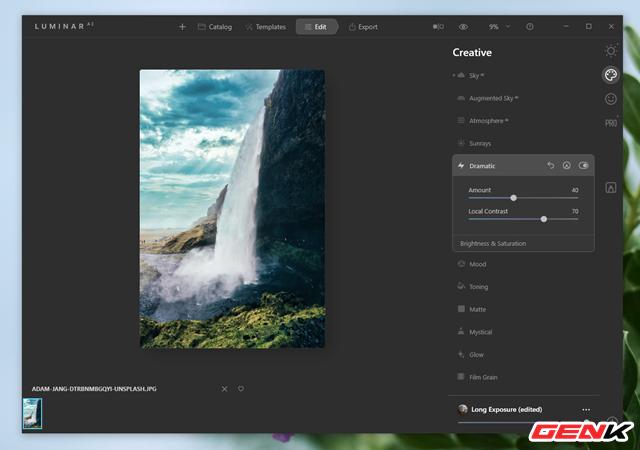 Cách sử dụng Luminar AI để có được những bức ảnh phong cảnh đẹp - Ảnh 10.