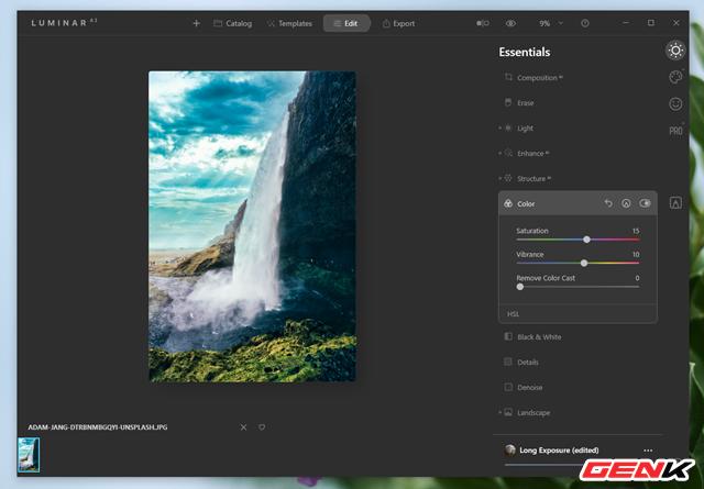 Cách sử dụng Luminar AI để có được những bức ảnh phong cảnh đẹp - Ảnh 13.