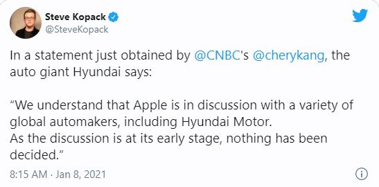 Hyundai đang đàm phán với Apple để trở thành đối tác sản xuất Apple Car - Ảnh 1.