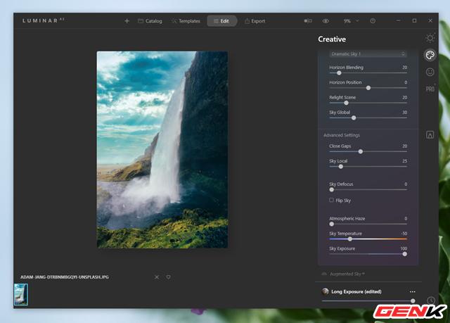 Cách sử dụng Luminar AI để có được những bức ảnh phong cảnh đẹp - Ảnh 9.