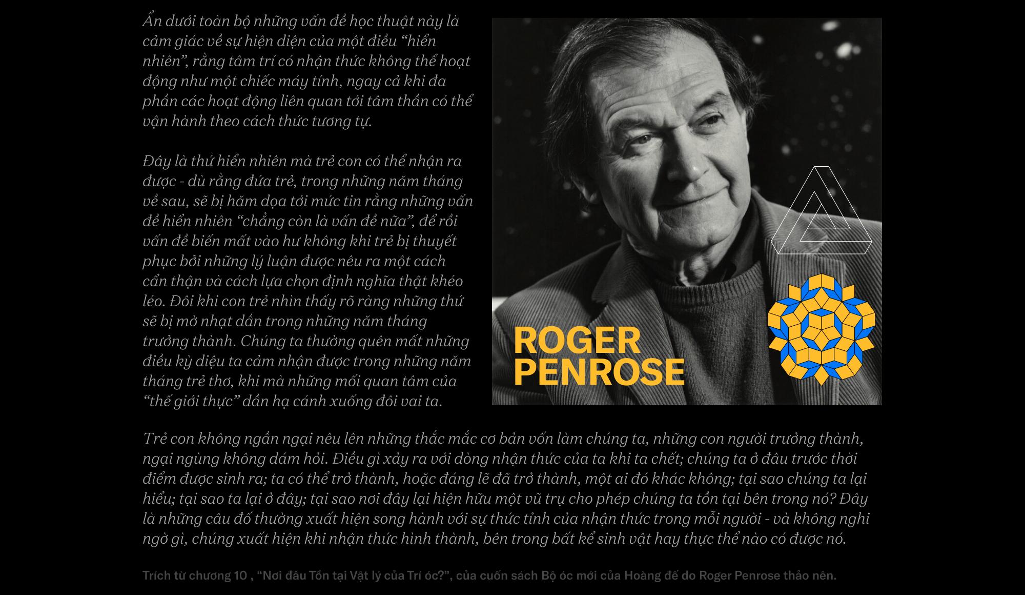 Roger Penrose - nhà khoa học vật lý lượng tử vĩ đại đang được ví như Hawking và Einstein - Ảnh 33.