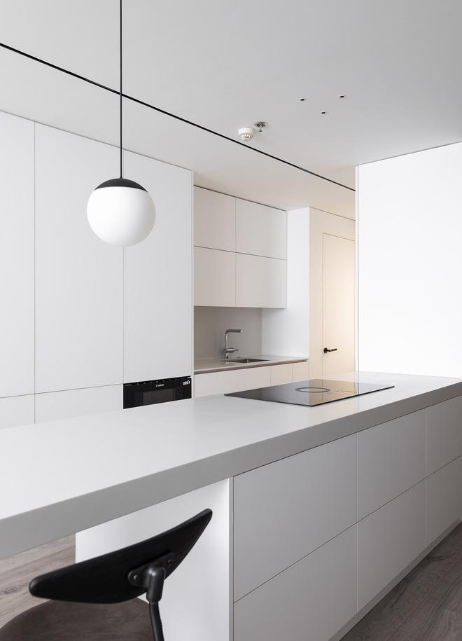Đập hết làm mới, chàng kỹ sư IT có căn hộ 85m2 đỉnh cao của phong cách tối giản - Ảnh 9.