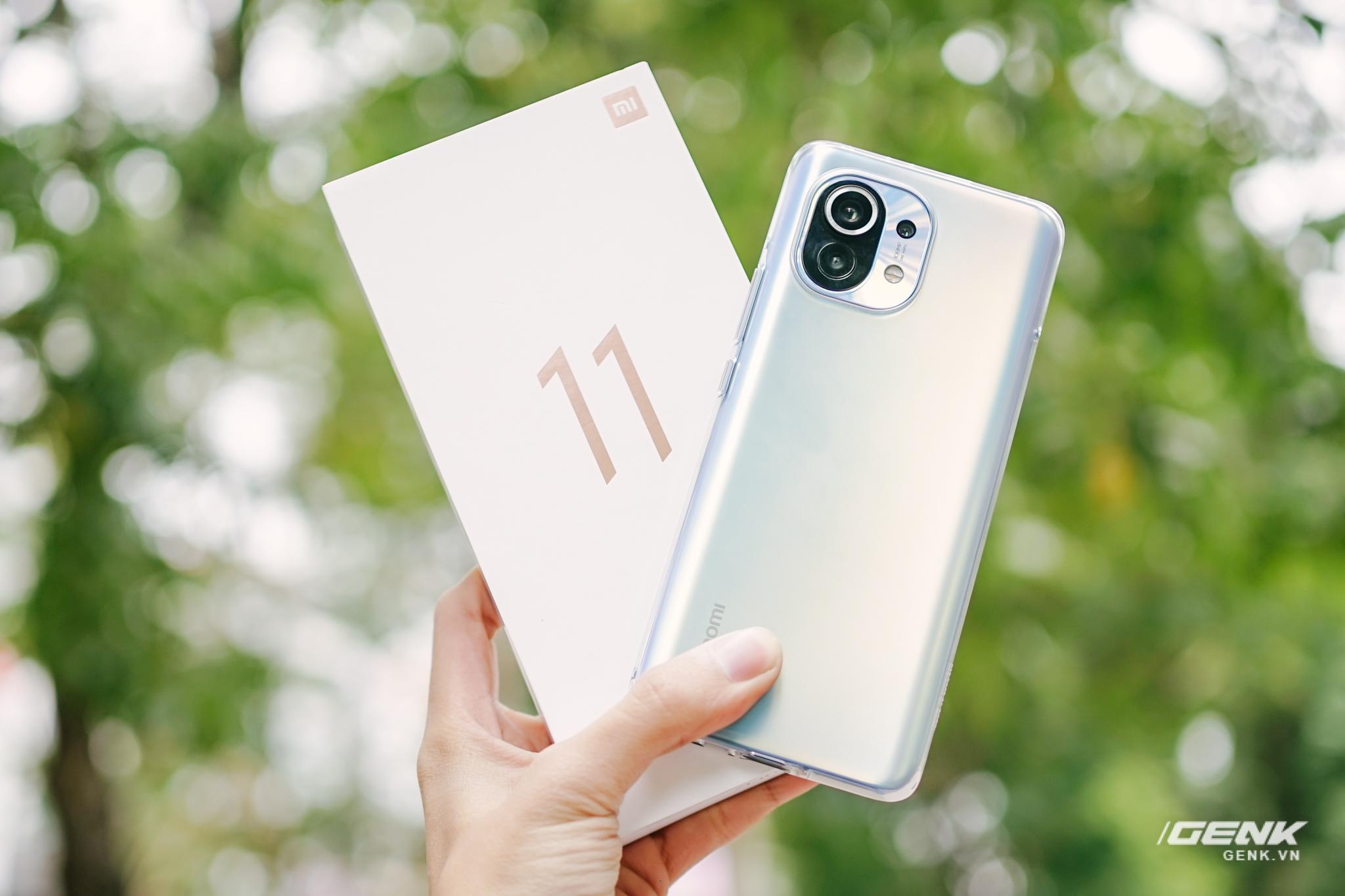 Xiaomi Mi 11 bản chính hãng bán ở Việt Nam sẽ đi kèm củ sạc