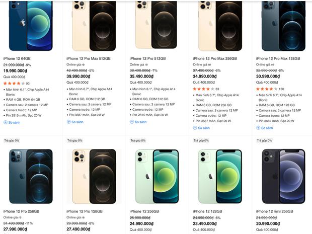 Cận ngày iPhone 13 chính hãng về Việt Nam, giá iPhone 12 đang giảm sâu! - Ảnh 6.